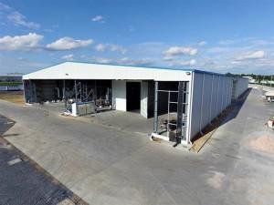 new coatings facility