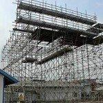 scaffold training area