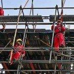 working scaffolders